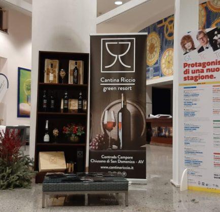 Cantina Riccio e Green Resort mecenati della cultura